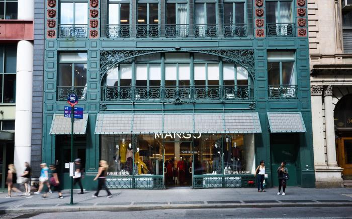 Mango SoHo New York store