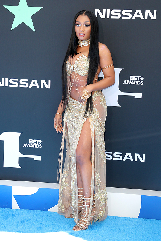 Megan Thee StallionBET Awards, Arrivals, Microsoft Theater, Los Angeles, USA - 23 Jun 2019