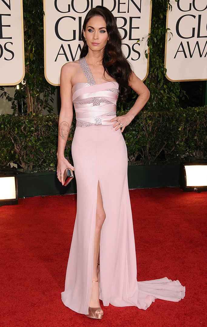 Megan Fox 2011 Golden Globes