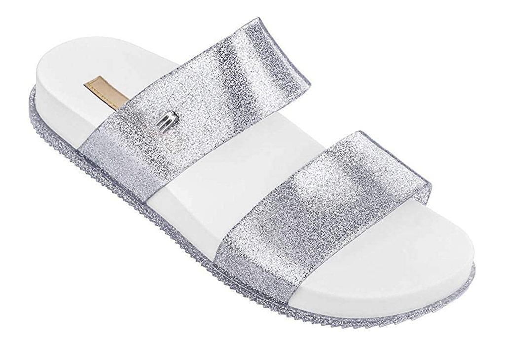 melissa, silver slides