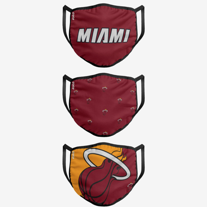 face mask, sports, miami, heat