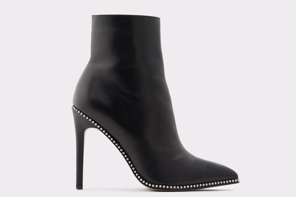 aldo, black booties