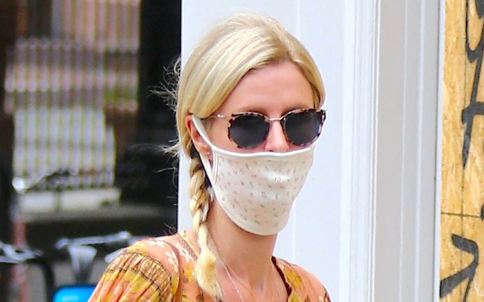 nicky-hilton-style-dress-mask