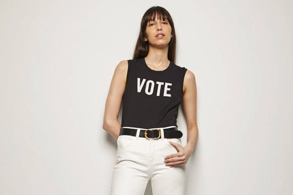nili lotan, vote, shirt