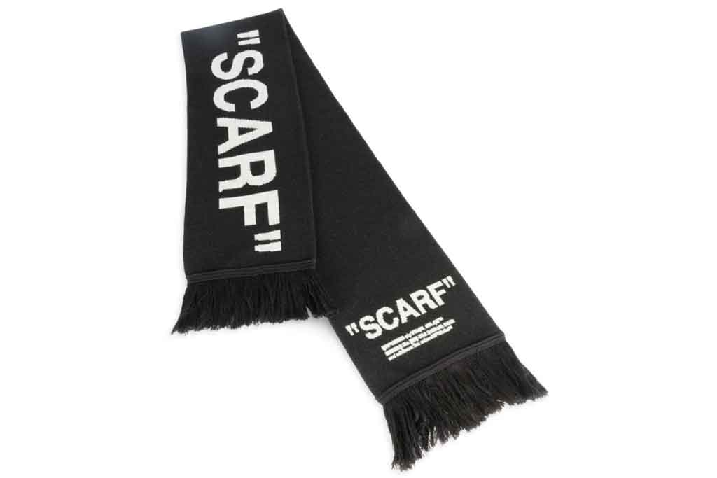 off-white, scarf
