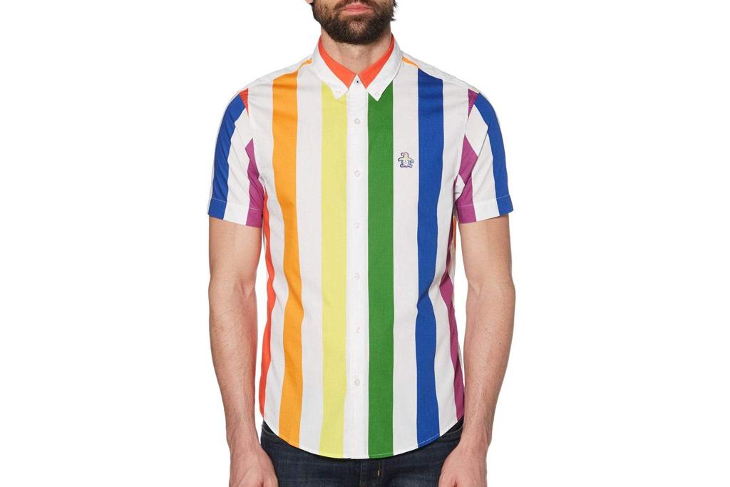 original penguin, polo, t-shirt, apparel, pride, rainbow