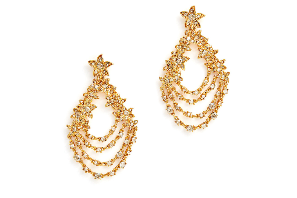 Oscar de la Renta, earrings