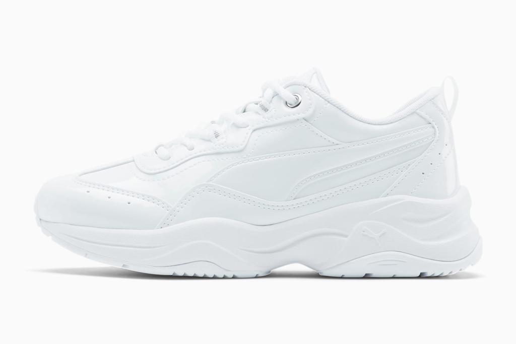 Puma, white sneakers