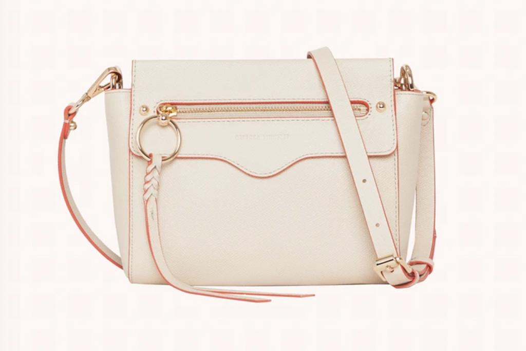 rebecca minkoff, style, purse, white