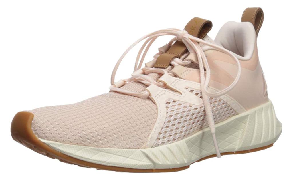 reebok, running shoes, pink