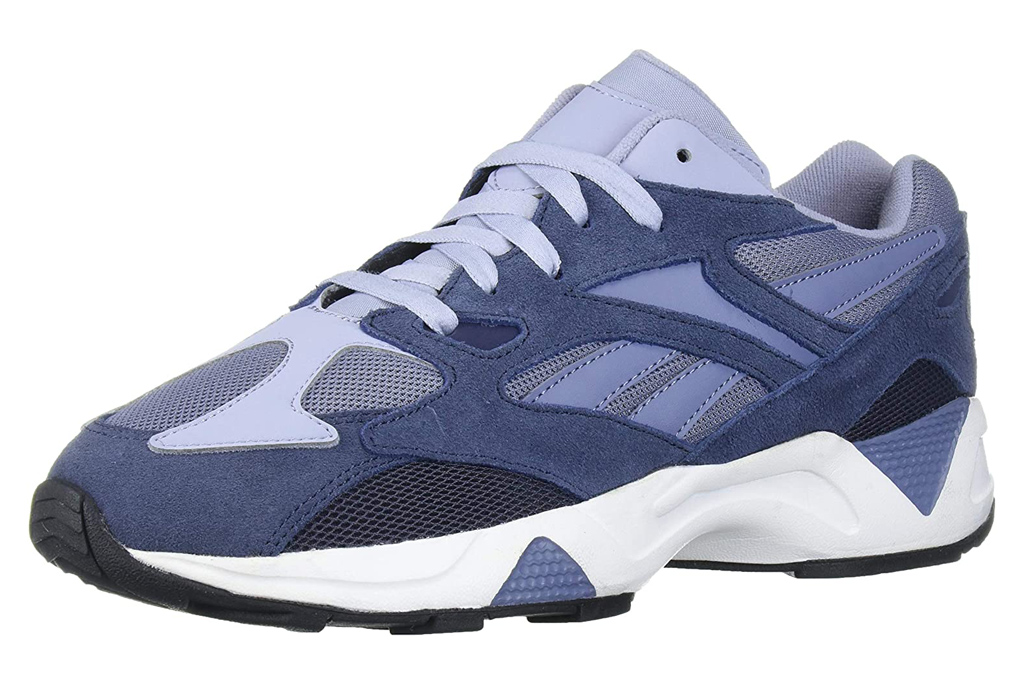 reebok, chunky sneakers, blue