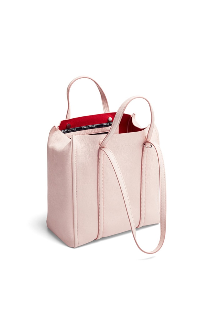 marc jacobs blush bag tote, rent the runway, sample sale
