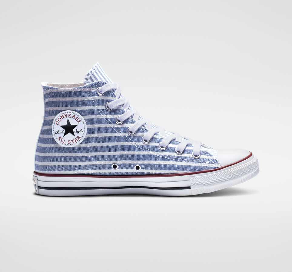 Converse's Red, White & Blue Shoes Are