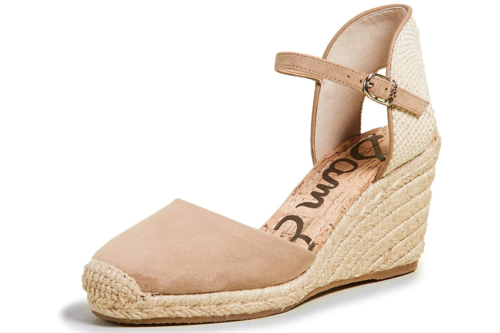 Sam Edelman, espadrille wedge