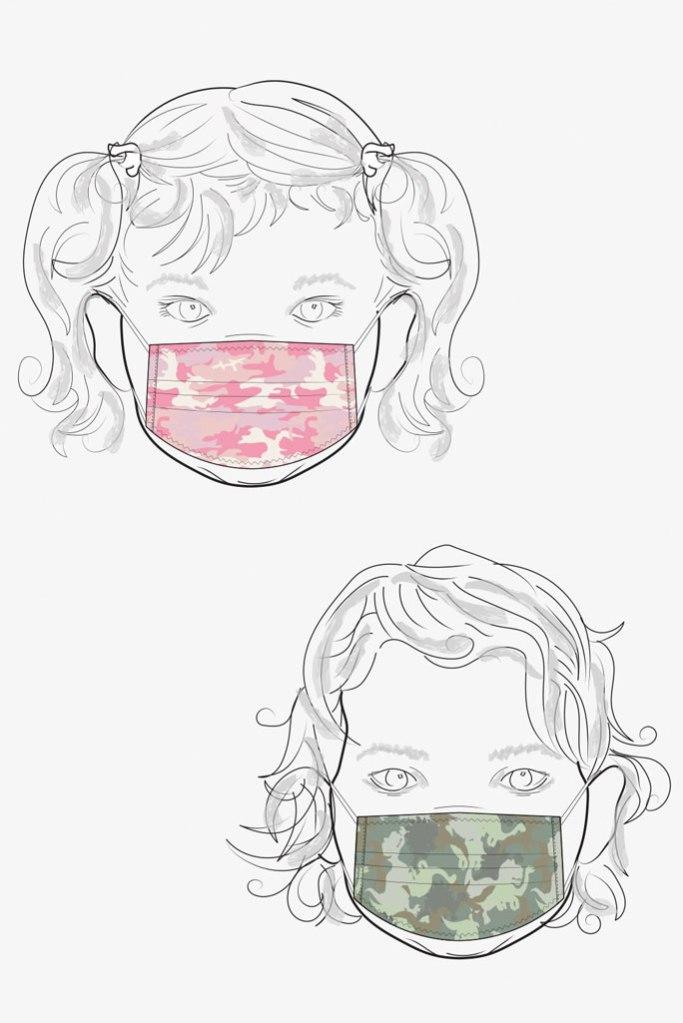 Sanctuary, face masks, kids