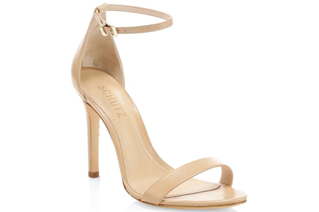 Schutz, nude sandals