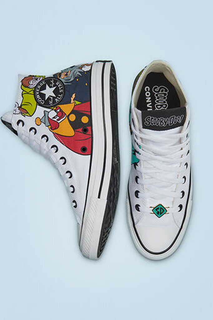 converse, Scooby Doo, Chuck Taylor, high top, collab