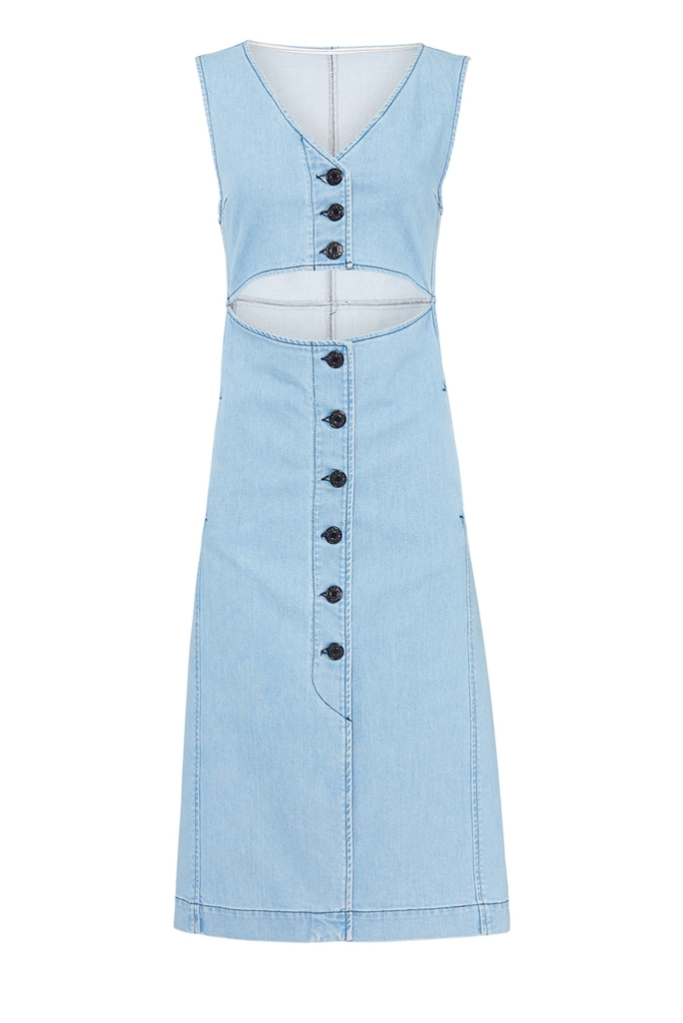 See by Chloe, denim dress