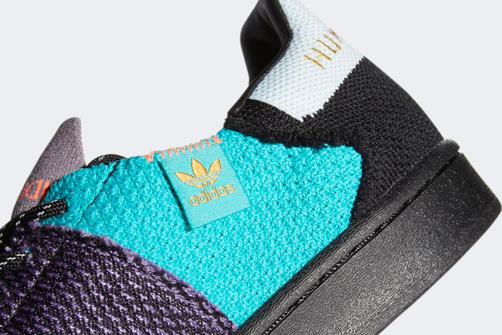 Adidas, Superstar, Pharrell, sneaker, CORE BLACK / TECH PURPLE / LEGACY PURPLE