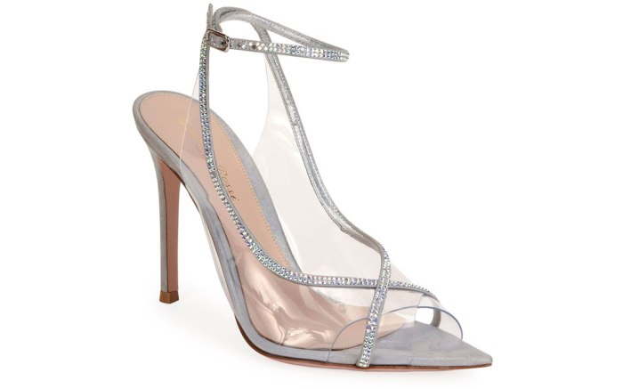 Gianvito Rossi, Open toe, strass, sandal