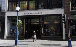 Anthropologie store. London, England, Britain.Anthropologie store
