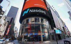 The Nasdaq Marketsite in Times Square,