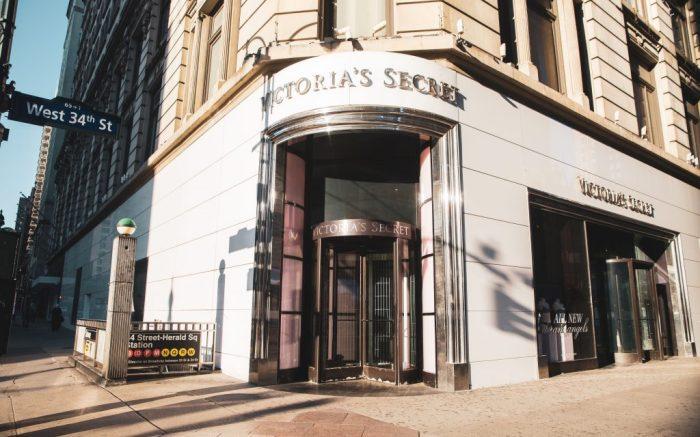 Victoria's Secret Store Entrance on 34rd Street during COVID-19 coronavirus outbreak, in ManhattanCoronavirus outbreak, New York, USA - 26 May 2020