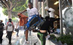Looters grab merchandise at REI in