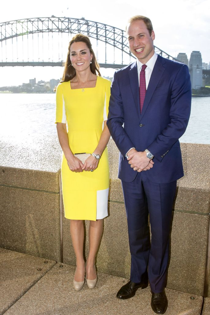 Kate Middleton wearing Roksanda during the royal tour of Australia with Prince William in 2014