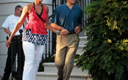 Michelle and Barack Obama: 2010