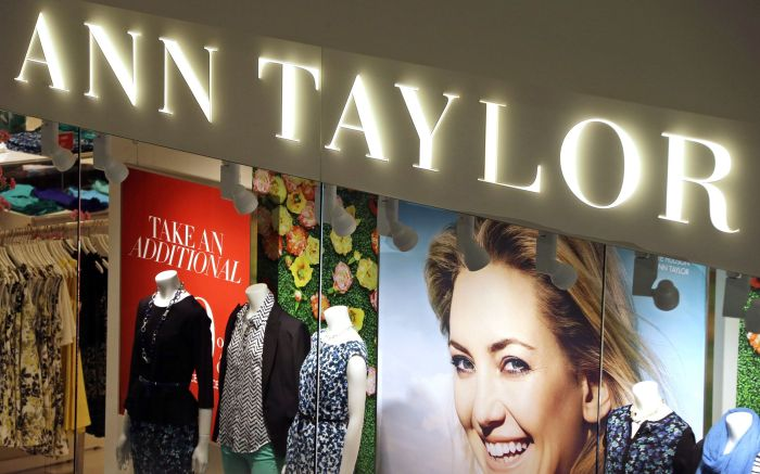 This March 5, 2013 photo shows an Ann Taylor store in Mount Lebanon, Pa. Shares of Ann Inc. jumped 7 percent, after the women's clothing retailer announced a better-than-expected fourth-quarter profit and a strong sales guidance for the current quarter and full yearEarns Ann, Mount Lebanon, USA