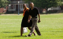 Michelle and Barack Obama: 2009