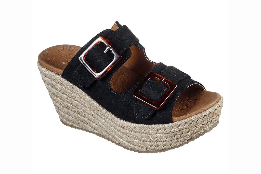 skechers sandal sale, skechers brit sandal, espadrille platform shoes