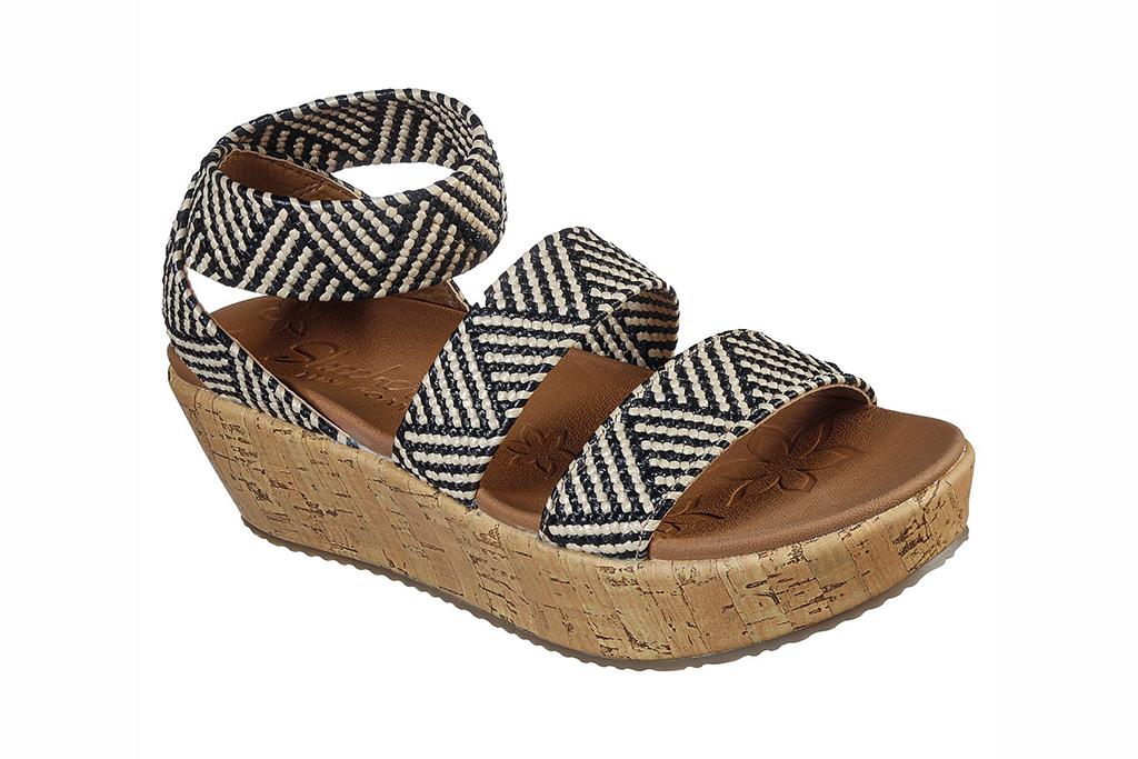 skechers sandal sale, skechers becka sandal, strappy sandals comfort