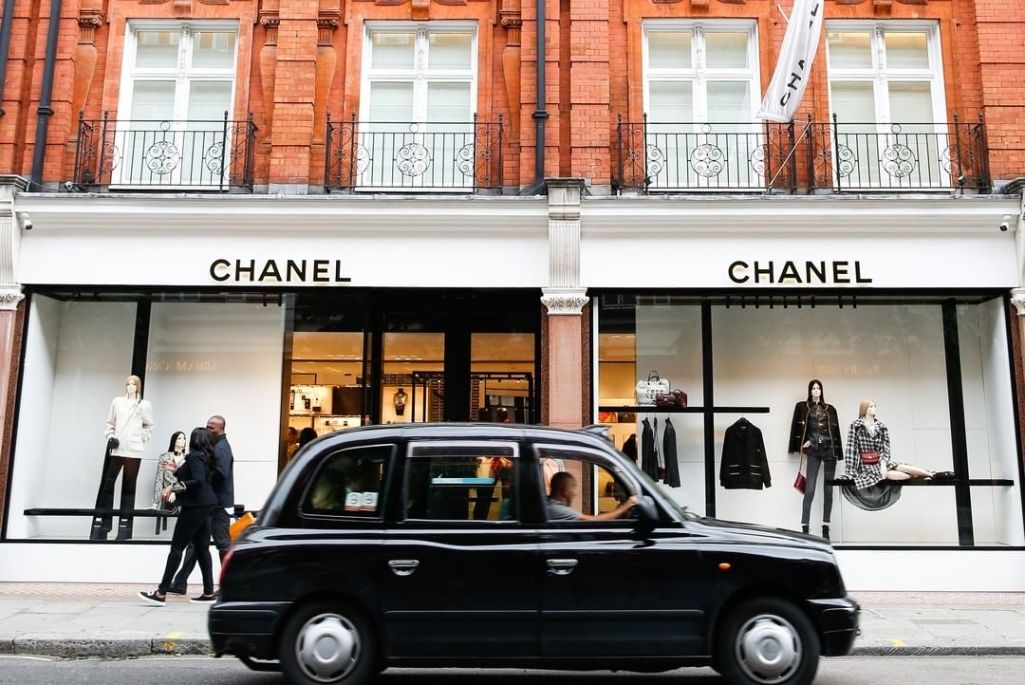 chanel boutique, sloane street, london