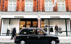 chanel boutique, sloane street, london