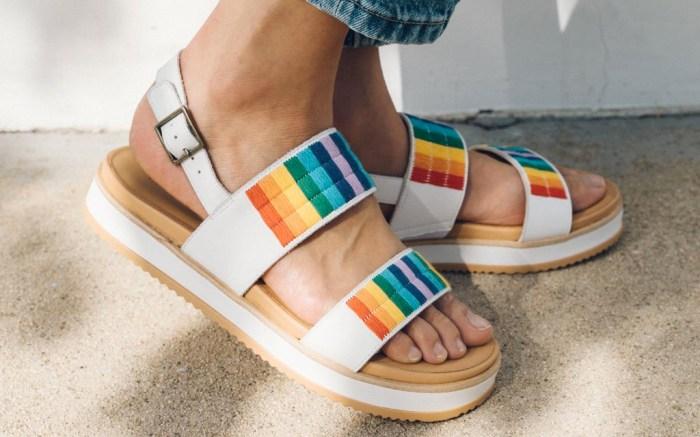 soludos, remy, sandal, rainbow, sale