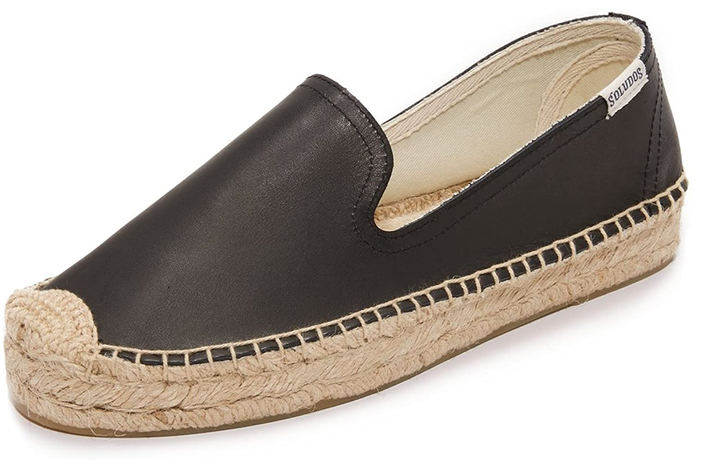 Soludos, leather espadrille