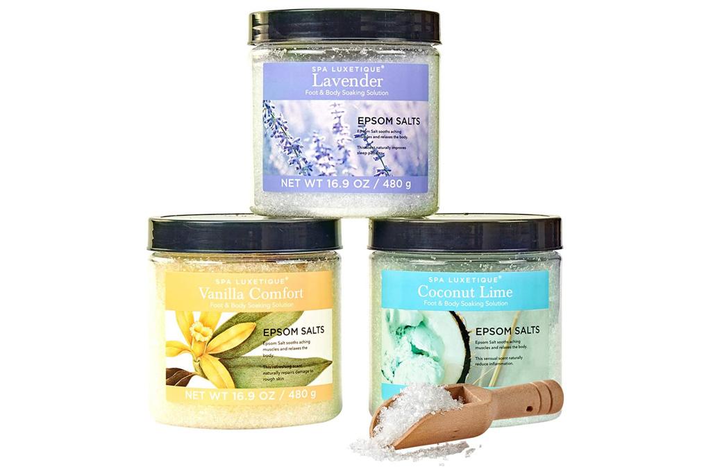 spa luxetique, bath salt, salts, foot