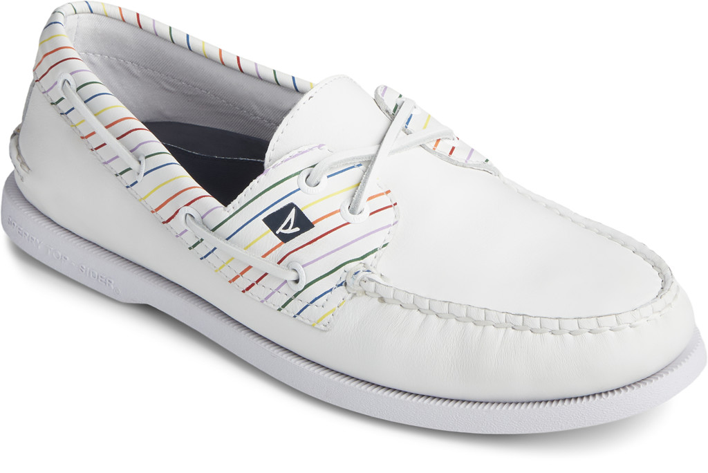 Men's Authentic Original Pride Boat Shoe, sperry, pride collection