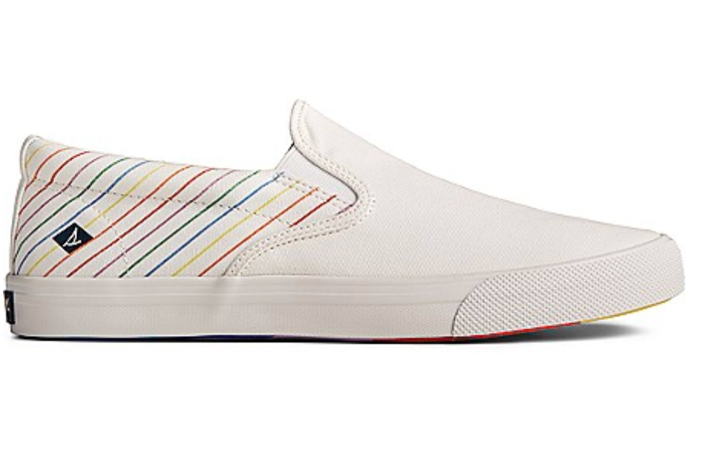 Men's Striper II Pride Slip On Sneaker, sperry, sperry pride collection