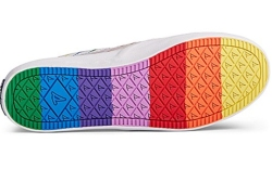 sperry pride collection, sperry, rainbow sole