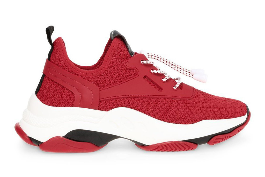 steve madden, red sole, sneakers