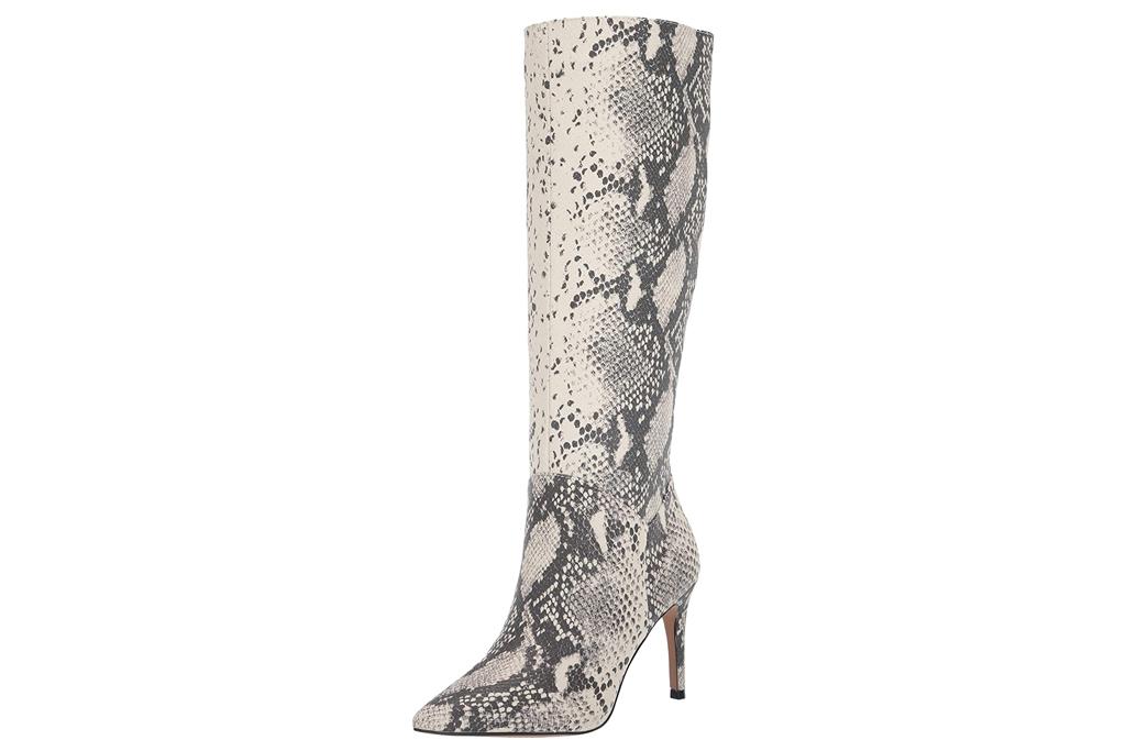 steve madden, boots, snakeskin