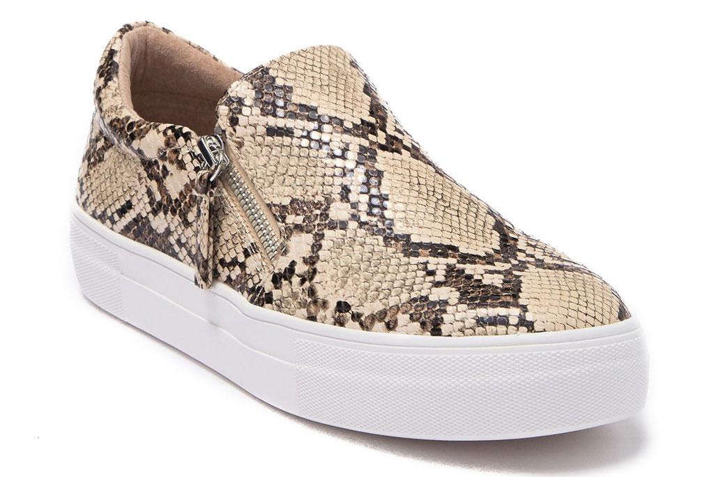 steve madden, python-print sneaker