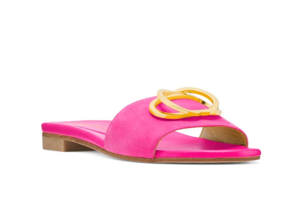 stuart weitzman, caicos sandal, summer sample sale, stuart weitzman sample sale
