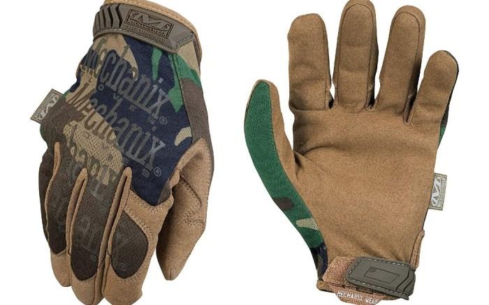 Mechanix Wear - Original Woodland Camo Tactical Gloves