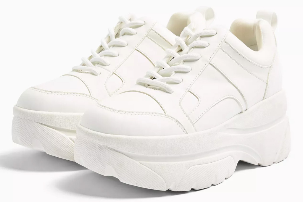topshop, chunky sneakers