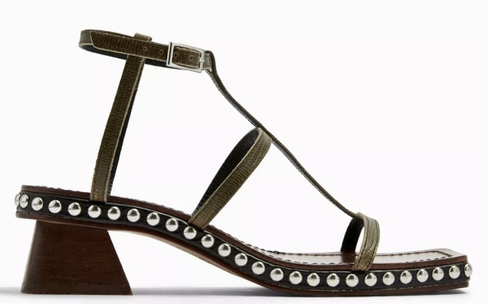 topshop shoe sale, topshop sandals, studded sandals
