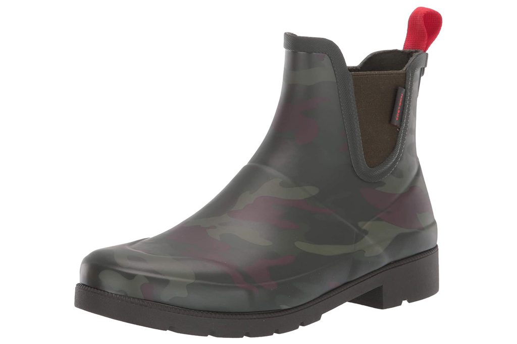 tretorn, camo boots, women